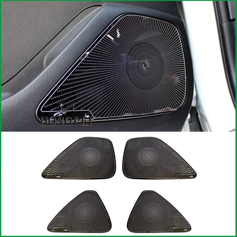Car Door Speaker Audio Ring Cover Trim Car styling For Toyota Corolla 2019 2020 loudspeaker Covers Interior Parts