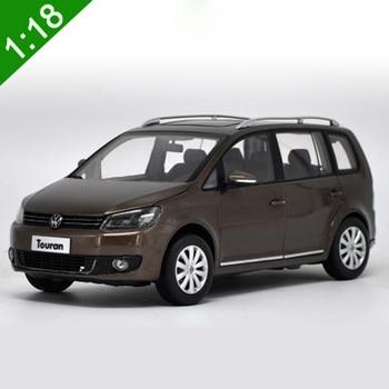 1:18 High Meticulous VW TOURAN MPV Alloy Model Car Static Metal Model Vehicles With Original Box 1