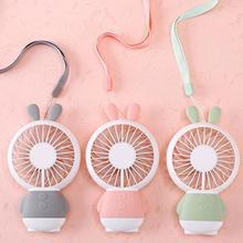 Портативный usb-вентилятор, портативный мини-вентилятор, 800 мА/ч, перезаряжаемый, удобный, маленький настольный, настольный, USB Охлаждающий вентилятор, дропшиппинг