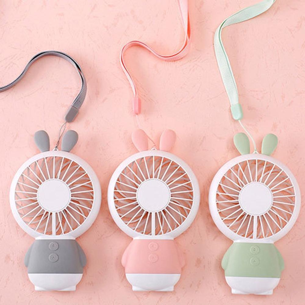 Handheld USB Fan Cooler Portable Mini Fan 800mAh Rechargeable Handy Small Desk Desktop USB Cooling Fan Dropshipping
