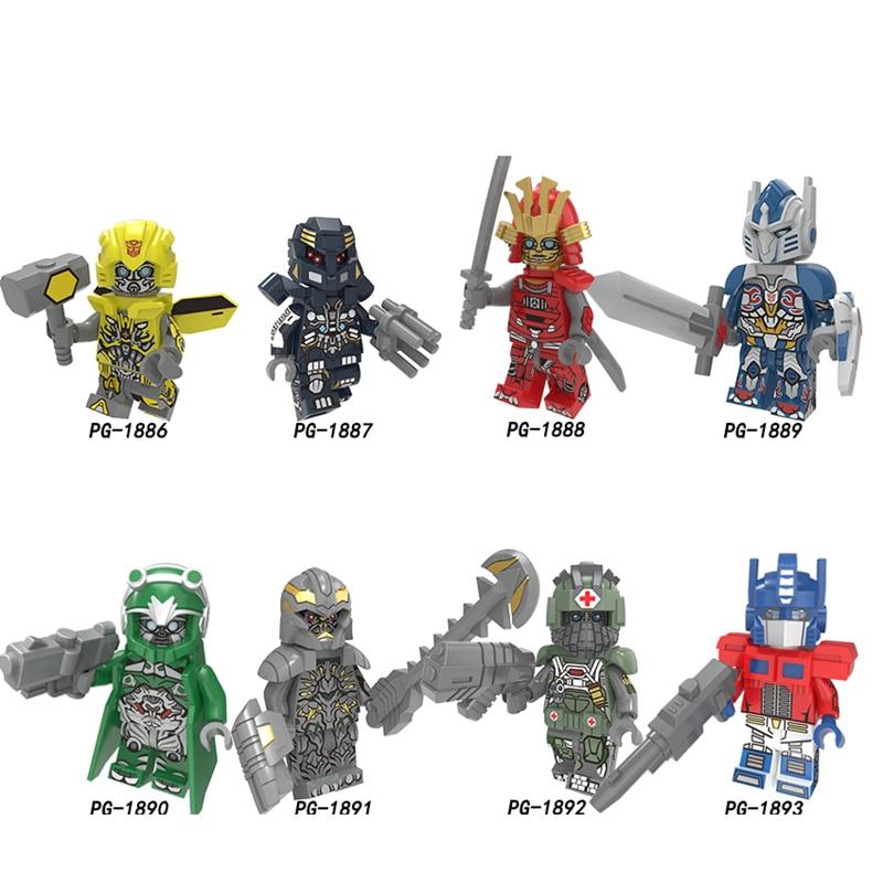 Single Robot Movie Technic Mobile Rollbar Drift Cartoon Mazinger Z Golion Voltron Ultraman Building Block Toys