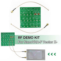 RF Demo Kit Test Board Anaylzer Tool Equipment Set Accessories Filter Attenuator Cable Vector Network For NanoVNA