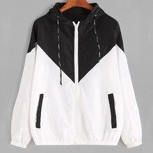 Women Hooded Basic Jackets Female Zipper Pockets Casual Long