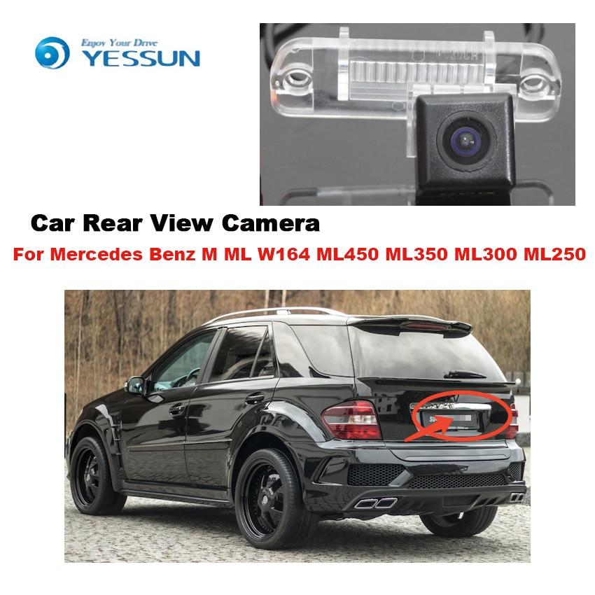 YESSUN Mercedes Benz M ML W164 ML450 ML350 ML300 ML250 Araba Dikiz Back Up Ters Park yüksek kaliteli kamera CCD HD KAMERA