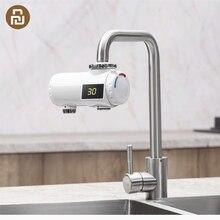 Xiaodaความร้อนทันทีก๊อกน้ำห้องครัวเครื่องทำน้ำอุ่นไฟฟ้า30 50 °Cอุณหภูมิเย็นปรับกันน้ำก๊อกน้ำ