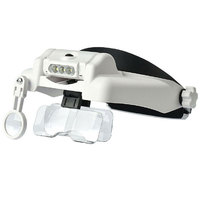 1X 14X Multi Magnification Optivisor Headband Gardening Maintenance Helping Hand Magnifier Head Repairing Magnifying Glass
