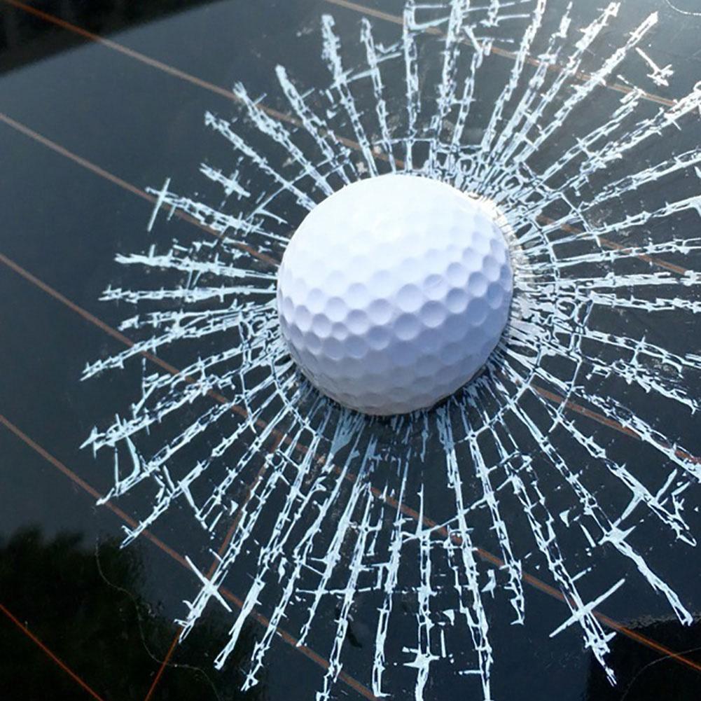 Автомобильный 3D Стикеры белый мяч для гольфа Футбол Баскетбол Теннис; Бейсбол хит Стекло Защита от солнца на заднее стекло авто стеклоочист...
