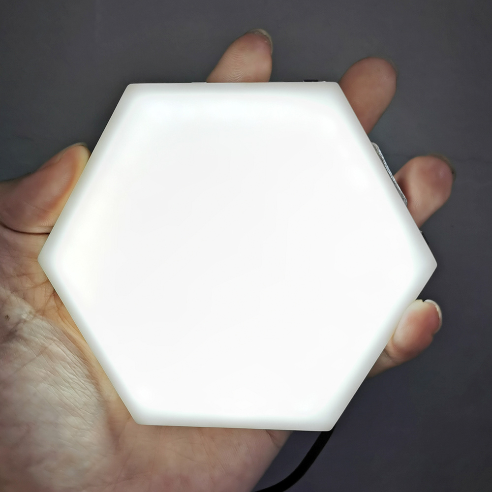 Modern Quantum Lamp Touch Sensitive Lighting LED Night Light Magnetic Hexagons Decoration Wall Lampara For Restaurant Children