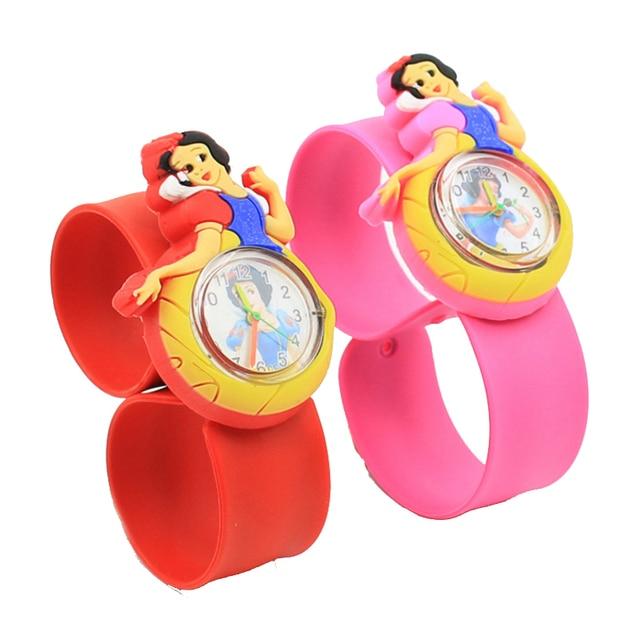 1pcs/lot free shipping High Quality silicone slap watch, kids slap watches animal team children watch, girls boys students clock 1