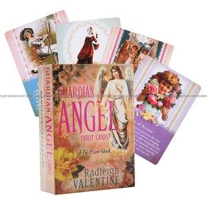 Image 1 - を守護天使タロットカード 78 カードデッキと electronicguidebook カードゲームおもちゃ