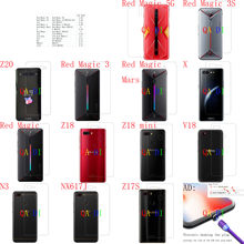 Achter Screen Protector Back Film Voor Nubia Red Magic 5G 3S Z20 3 Mars X Z18 Mini V18 n3 NX617J Z17S NX629J_V1S NX627J NX629J(China)