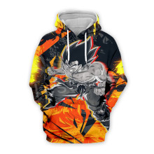 Tessffel Anime Cartoon Dragon Ball Goku Saiyan Tracksuit Casual Harajuku 3D Print Hoodie/Sweatshirt/Jacket/shirts Men Women s-2