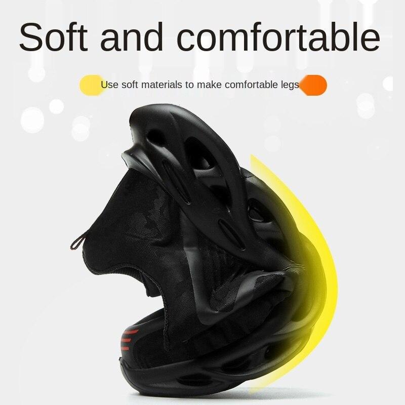 FANAN Air Mesh travail bottes de sécurité hommes antidérapant grande taille toutes les saisons Construction sécurité léger chaussures de protection livraison directe