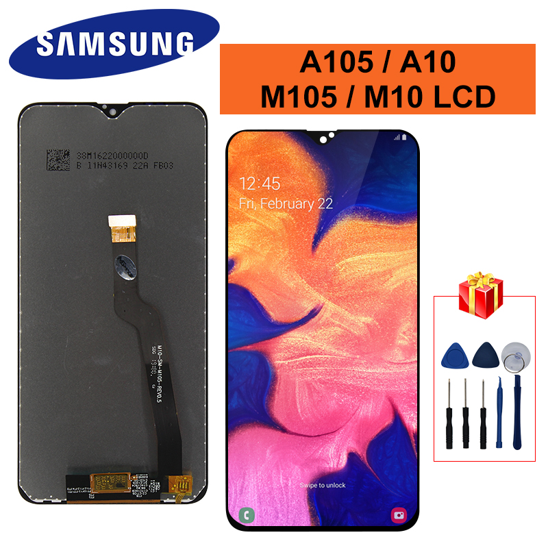 For <font><b>Samsung</b></font> Galaxy A10 <font><b>M10</b></font> Display A105F A105 /DS SM-A105F M105 SM-M105F <font><b>LCD</b></font> Touch <font><b>Screen</b></font> Digitizer Display M105F <font><b>LCD</b></font> image