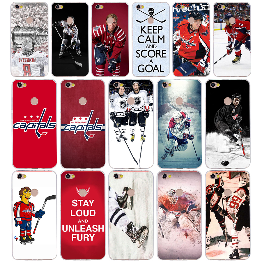 182FG Ice Hockey Alexander Ovechkin Sidney Soft Silicone Tpu Cover phone Case for xiaomi redmi 5A 8 8A 5Plus note 5 5A 8 8t Pro(China)