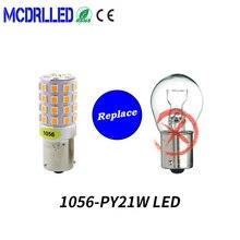 цена на Mcdrlled 1156 Ba15s P21w Canbus Led Bau15s Py21w Led 1157 P21/5w 45pcs 2835 Smd Auto Lamp Bulbs Car Led Light 12v-24v