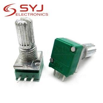 5 шт./лот RK097N 1K 5K 10K 20K 50K 100K 500K 250K B5K с переключателем звука, 3 контактный вал, 15 мм усилитель, герметичный потенциометр|Потенциометры|   | АлиЭкспресс