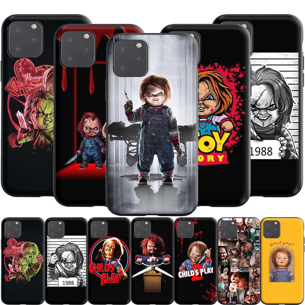 Силиконовый чехол с куклой Чарльз Ли Рей Чаки для Apple iPhone 12 Mini 11 Pro XS X XR Max 8 7 6S 6 Plus SE 5S