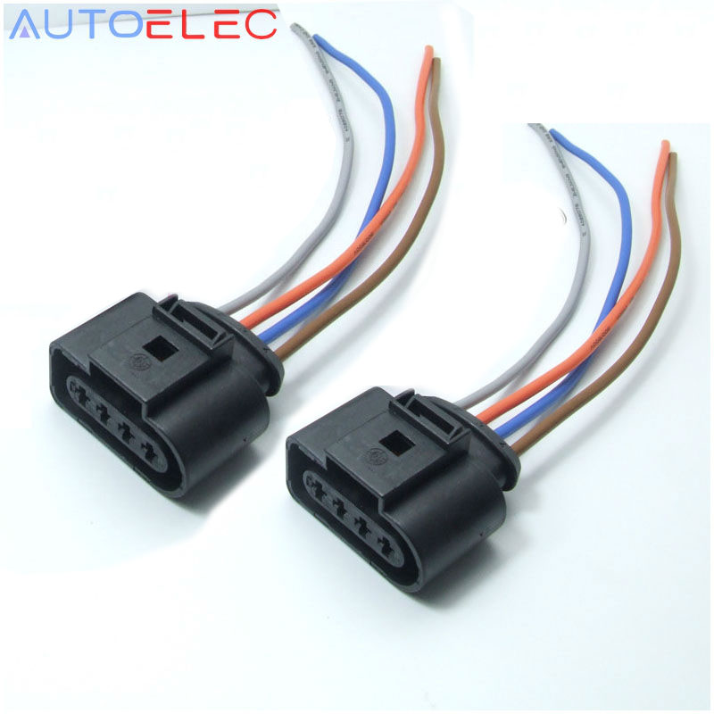 [GJFJ_338]  2Pcs 1J0973724 NEW Audi VW Ignition Coil Connector Harness Plug Wiring EOS  Golf Jetta Passat|a8 speaker|kit car knight riderkit switch - AliExpress | Dodge Coil Connector Wiring |  | Global Online Shopping for Apparel, Phones, Computers, Electronics, Fashion  and more on AliExpress