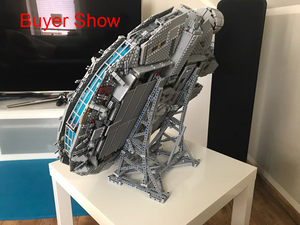 Image 4 - Star MOC Ultimate Millennium Collector Display Stand Wars Model Show Shelf Building Blocks Falcon Toys