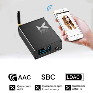 Image 5 - XDUOO XQ 50 Pro XQ 50 ES9018K2M USB DAC Buletooth 5,0, преобразователь аудиоприемника, Поддержка aptX/SBC/AAC, омолаживайте свой ЦАП усилитель