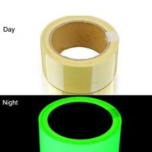 Glow In Dark Tape Photoluminescent Luminous Tape Self-adhesive Stage Home Decoration