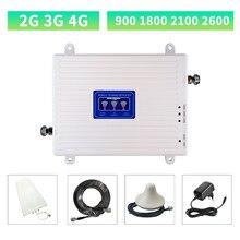Répéteur GSM 2G 3G 4G 900 1800 2100 LTE amplificateur de Signal cellulaire 4G amplificateur de Signal Mobile DCS