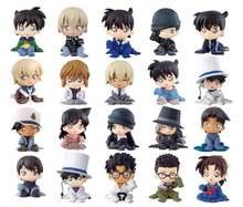 Nouveau détective Conan, figurine assise assise, ensemble complet (2) Gashapon, jouets de mascotte à collectionner, 100% originaux
