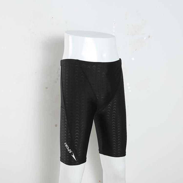 New Style Comfortable Swimming Trunks Quick-Dry Plus-sized Men Short Shark Skin Swimming Trunks Tight Swimming Trunks Equipment