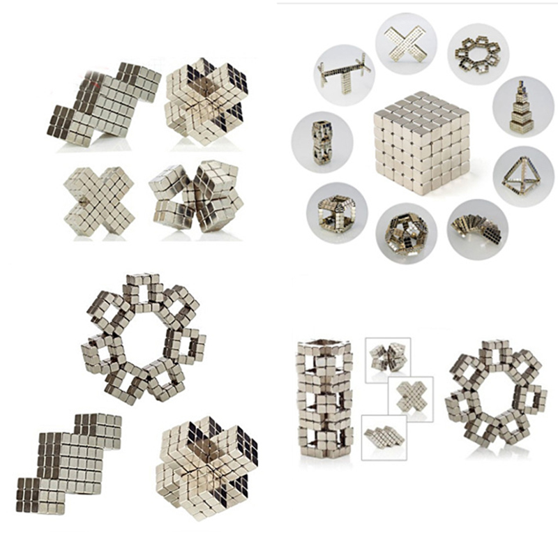 Image 5 - 216Pcs/set 3mm Magic Magnet Magnetic Blocks Balls NEO Sphere Cube Beads Building Toys PUZZLE-in stress relief cube from Toys & Hobbies