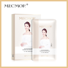 MECMOR Freezing-Age Firming Facial Mask 5PC Additive Free Sensitive Skin Usable Nourish Face Mask