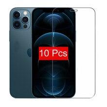 10 5 3 1 шт./лот закаленное стекло для iPhone 12 Mini 11 Pro X XS MAX 6 6s 7 8 Plus 4s 5 5s SE Защитная пленка для экрана Защитный чехол