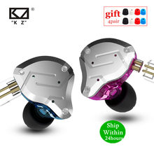KZ ZS10 PRO 4BA + 1DD HI FI Logam Headset Hybrid Di-Ear Earphone Olahraga Noise Cancelling Headset KZ ZSN PRO ZST AS16 AS12 AS10 C16(China)