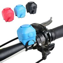 New Bicycle Bell Mountain Cycling Bike Electric Horn Colorful Waterproof Fashion Handlebar 3 Colors