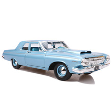 1:18 1963 330 Dicast Alloy Classic Car Model Simulation Retro Collection Metal Vehicle Toy Collectible Traffic Artwork for Fans