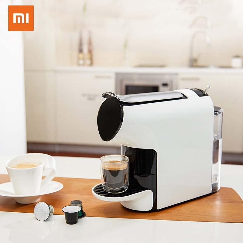 Xiaomi Machine à café intelligente 9 niveaux Concentration Capsule expresso préréglé Compatible avec 20 Capsules de café