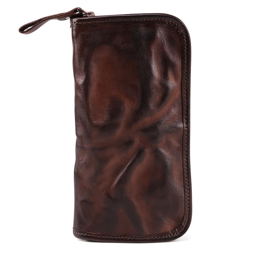 Special Wallet Unique Purse Clutch-Bags Long Genuine-Leather Gift Masculina Men Business