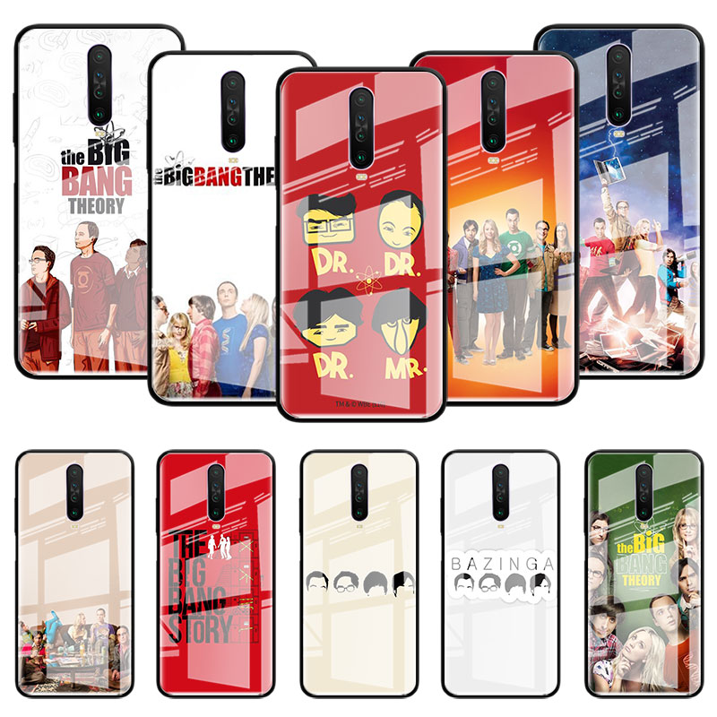 <font><b>Big</b></font> <font><b>Bang</b></font> Theory Glass <font><b>Case</b></font> For Samsung Galaxy S10 S20 Ultra 5G S10e S9 S8 Plus Note 8 9 10 Lite <font><b>Phone</b></font> Coque Casos image