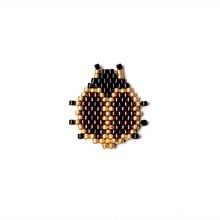 Fairywoo 10 шт/лот стимпанк Подвеска Божья Коровка Ожерелье