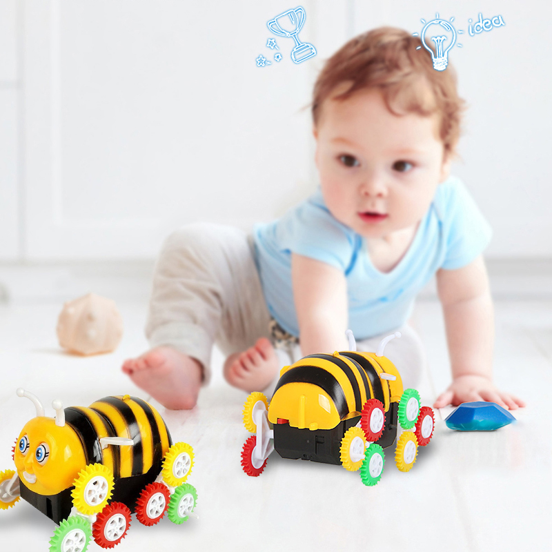 Hot Kids Electronic Toys Bee Truck Stunt Car Electric Toys Bee Dump Truck For Children,Girls,Boys Puzzle Toys Car Gift