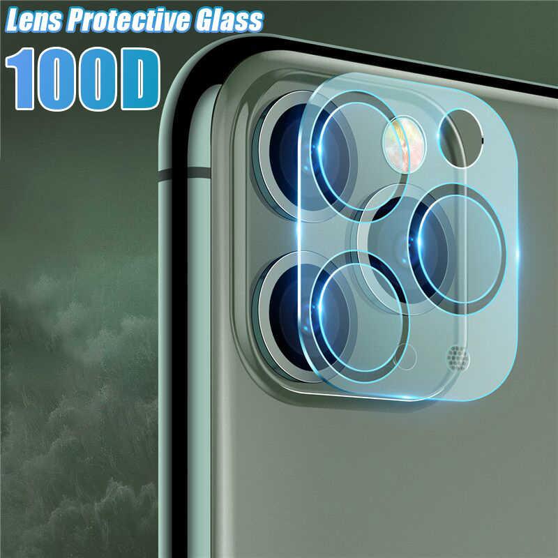 6-4-2 шт. Защитная стеклянная пленка для камеры для IPhone 8 7 6 6s Plus XS XR X 11 Pro Max Защита объектива закаленное стекло полное покрытие