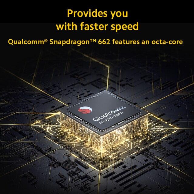 Smartphone POCO M3 Versão global  - 4GB RAM - 64gb/128gb - Snapdragon 662 Octa-Core- Bateria de 6000mah - Câmera de 48MP 4