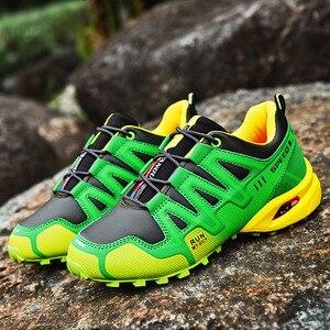 Image 5 - 運動靴男性のトレンド男性ランニングシューズ 2020 ホット販売ハイキングシューズ男性の大サイズの屋外カジュアルシューズメンズ