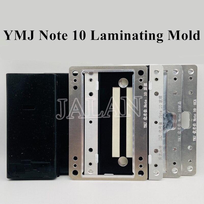 YMJ edge lcd laminating mold For Samsung Note 10 n970 digitizer display screen/oca/glass positioning laminating