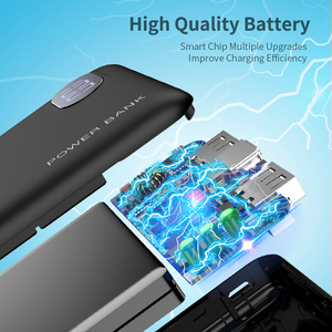 Image 4 - RAXFLY Mini Power Bank 10000mAh Cell Phone Portable Charger LED Powerbank 10000 mAh For Xiaomi External Mobile Battery Poverbank