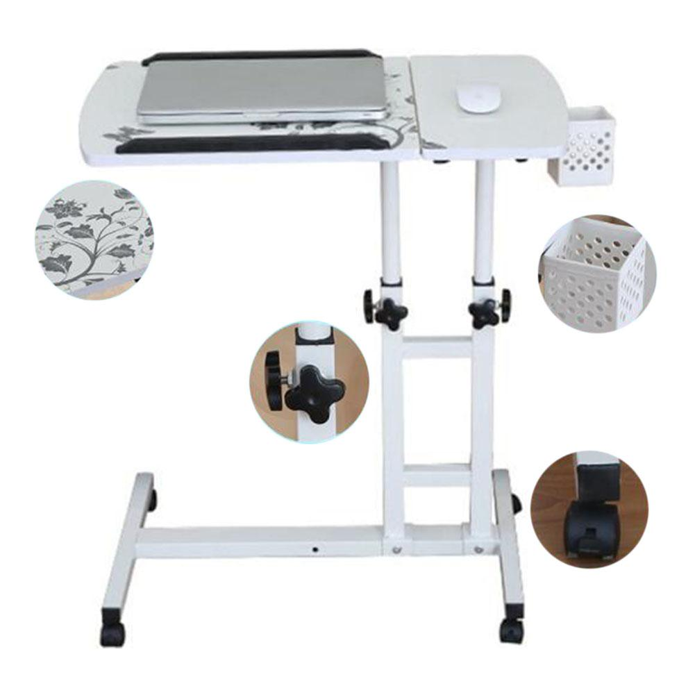 Kuulee Foldable Computer Table Portable Rotate Laptop Bed Standing Desk