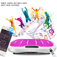 1002 Ultrathin Body Slimmer Crazy Fit Health Slimming Equipment Aerobic Fitness Vibration Exercise Machine