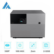 Fengmi Vogue Pro Dlp 1080P Projector Full Hd 1600 Ansi, 2 + 32Gb Android Wifi Ondersteuning 4K Projector,Home Theater Smart Telefoon Beamer