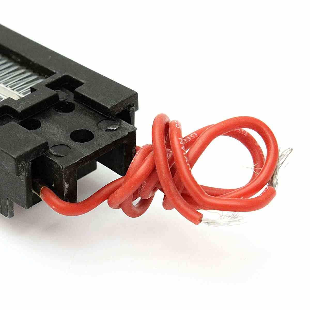 Oberfläche Isolierte 110V 100W Keramik Thermostat PTC Heizelement Elektrische Luft Heizung Werkzeug Teile AC/DC