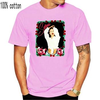 Nowa koszulka VTG Selena Tribute Bootleg Fugees letnia koszulka z krótkim rękawem 2021 modna koszulka 2018 2021 modna męska koszulka tanie i dobre opinie CASUAL SHORT CN (pochodzenie) COTTON Cztery pory roku Na co dzień Z okrągłym kołnierzykiem 2018 men women Sukno Drukuj